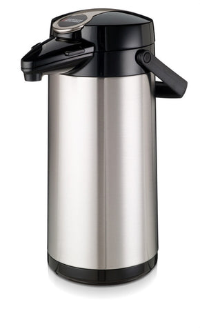 Airpot Furento 2.2litre Stainless Steel Coffee Flask from Bravilor Bonamat