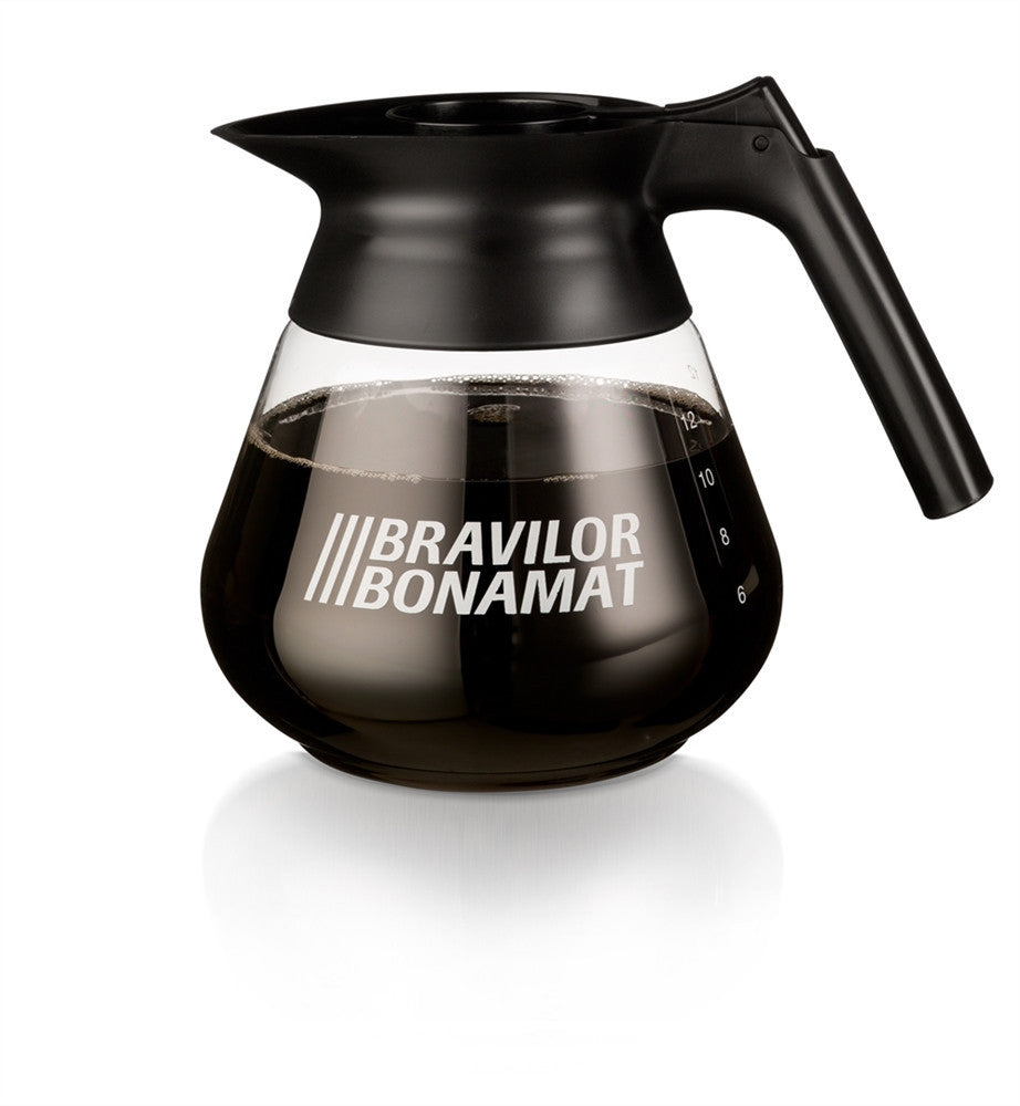 Coffee Jug 1.7litre Glass with flip lid from Bravilor Bonamat