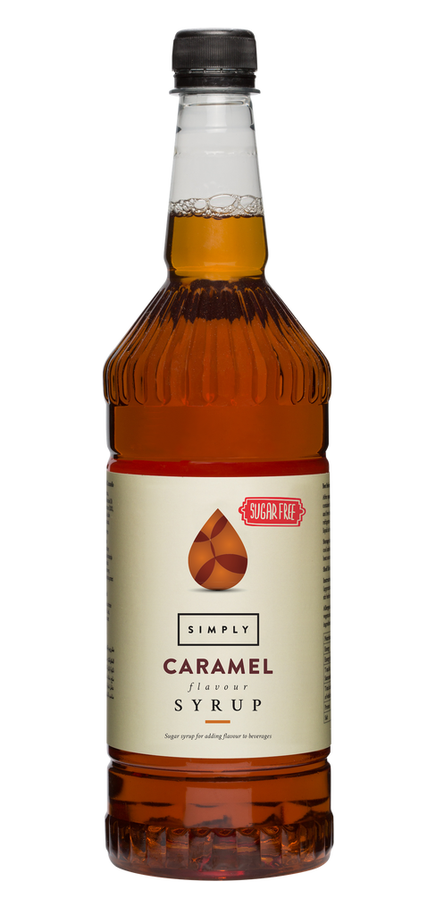 Simply Caramel Flavoured Syrup (1litre)