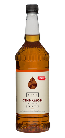 Simply Cinnamon Sugar Free Flavoured Syrup (1litre)