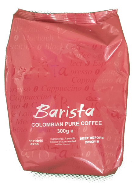 Barista Colombian Freeze Dried Instant Coffee (10x300g)
