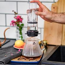 Delter Coffee Press - fast and clean ground coffee brewing