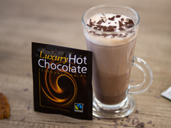 Fairtrade Instant Hot Chocolate Flavour Drink Sachets (100x22g)