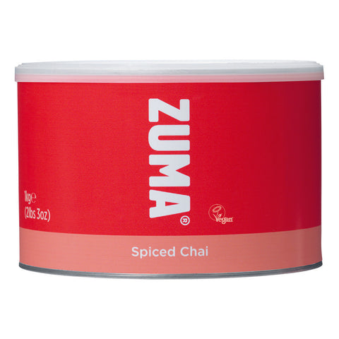Zuma Spiced Chai Latte Vegetarian and Vegan Society Approved (1kg tub)