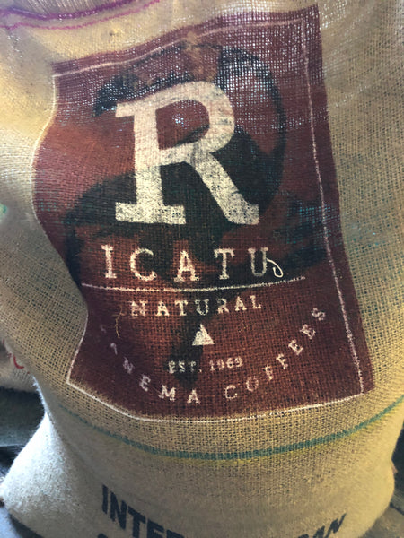 Brazillian Ipanema Yellow Icatu Arabica Green Coffee Beans (1kg)
