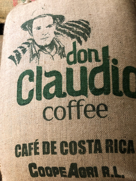 Costa Rica Washed Arabica Cafe Don Claudio Green Coffee Beans (1kg)