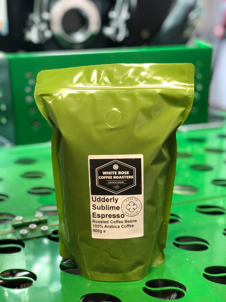 Udderly Sublime Espresso Blend Roasted Coffee