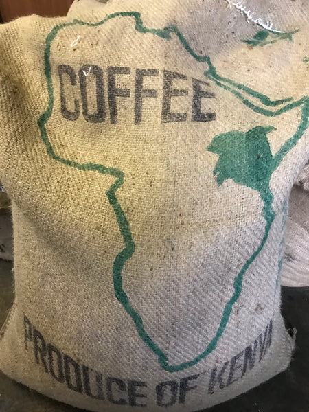 Kenya AA Acacias Arabica Washed Green Coffee Beans (1kg)