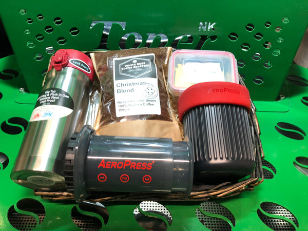 Christmas Hamper - Coffee to go with the Aeropress GO