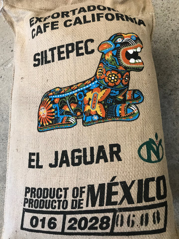 Mexico Siltepec El Jaguar Washed Arabica Green Coffee Beans (1kg)