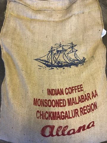 Monsoon Malabar Arabica Green Coffee Beans (1kg)