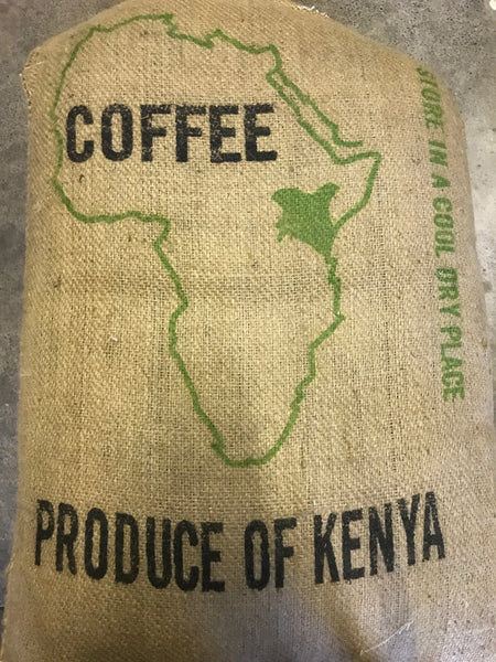 Kenya Peaberry Washed Arabica Green Coffee Beans (1kg)
