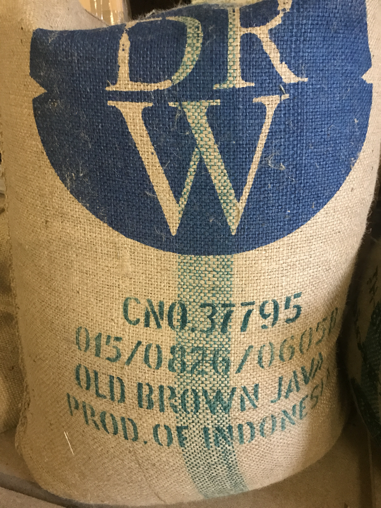 Indonesia Old Brown Java Green Coffee Beans (1kg)