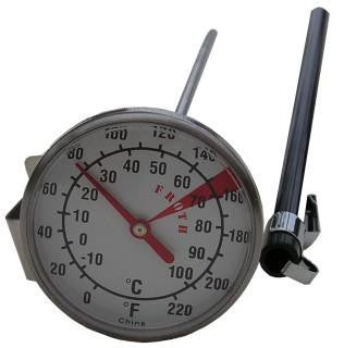 Large 8inch Milk Foaming Thermometer