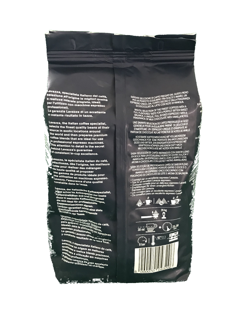 Lavazza Gold Selection Espresso Coffee Beans ( 6 x 1kg ...