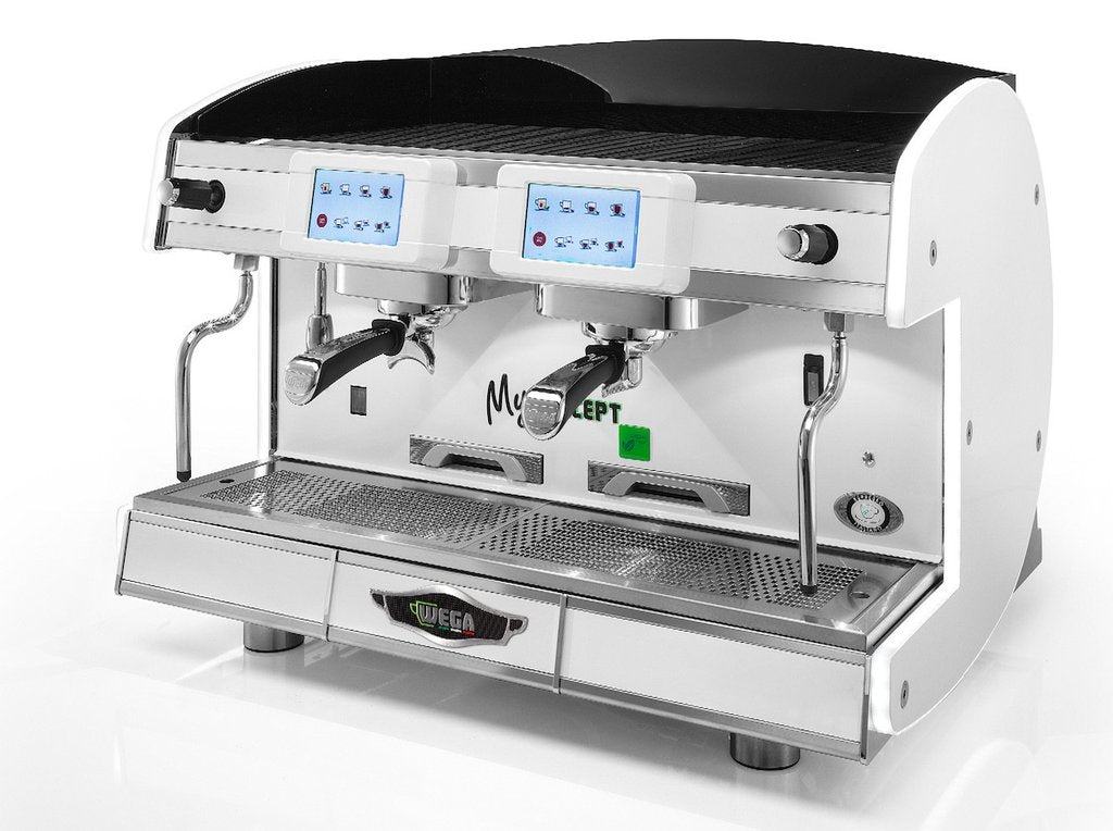Wega MyConcept 2 Group Espresso Coffee Machine Package