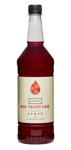 Simply Red Velvet Flavoured Syrup (1litre)