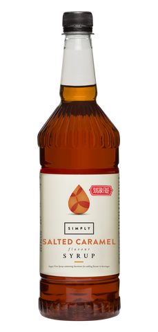 Simply Salted Caramel Sugar Free Flavoured Syrup (1litre)