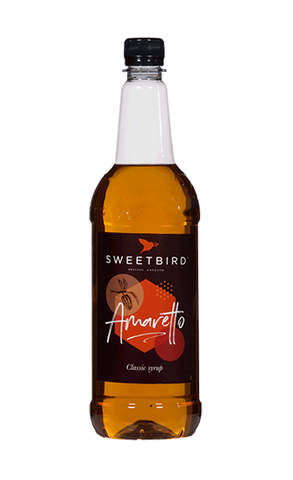 Sweetbird Amaretto Flavoured Syrup (1 litre)