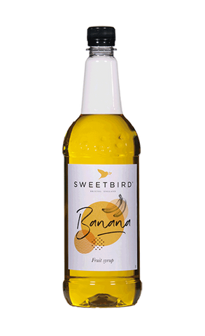 Sweetbird Banana Flavoured Syrup (1 litre)