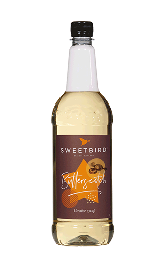 Sweetbird Butterscotch Flavoured Syrup (1 litre)