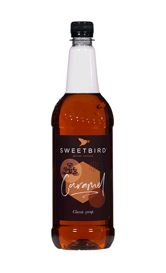 Sweetbird Caramel Flavoured Syrup (1 litre)