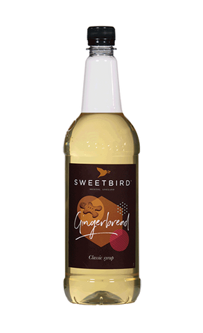 Sweetbird Gingerbread Flavoured Syrup (1litre)