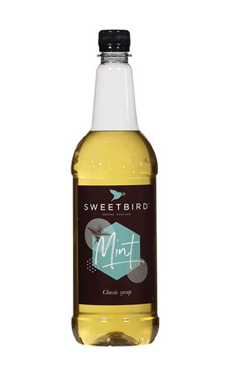 Sweetbird Mint Flavoured Syrups (1litre)