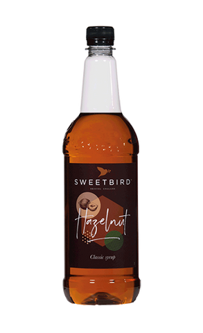 Sweetbird Hazelnut Flavoured Syrup (1litre)