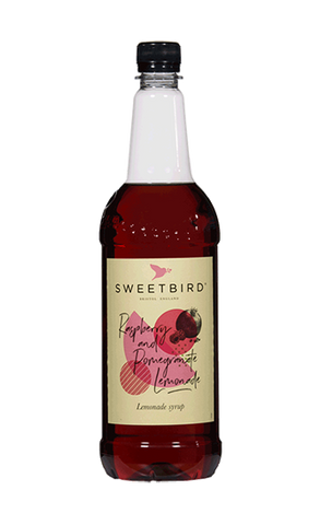Sweetbird Raspberry and Pomegrante Lemonade Syrup (1ltr)