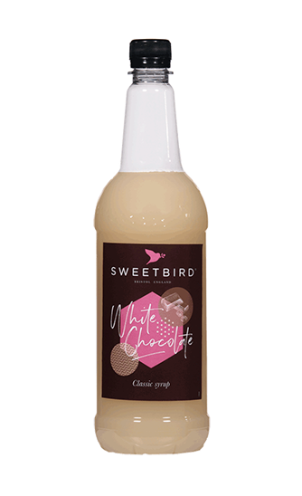 Sweetbird White Chocolate Flavoured Syrup (1 litre)