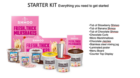 Shmoo Starter Kits and Accessories