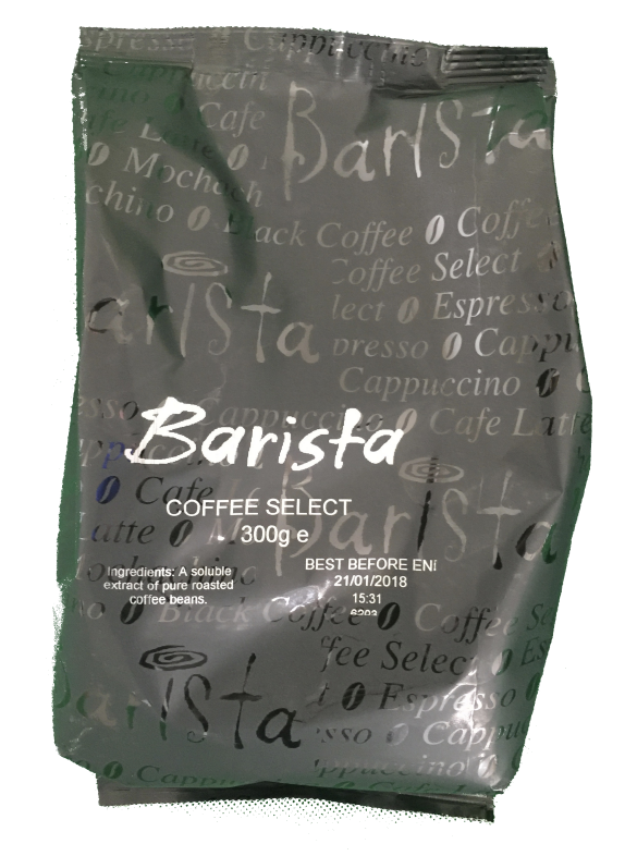 Barista Select Strong Freeze Dried Instant Coffee (10x300g)