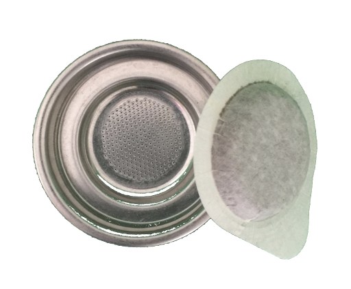 Single Paper Pod Stainless Steel Filter Pan 58mm