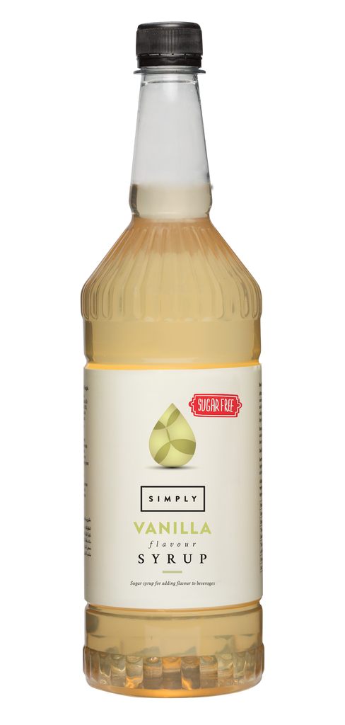 Simply Vanilla Sugar Free Flavoured Syrup (1litre)
