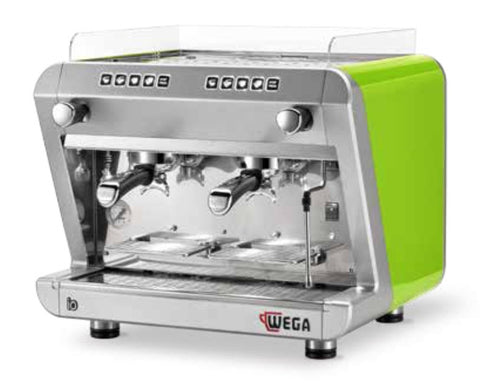 Wega IO 2 Group Keypad Dosing Compact  Espresso Machine