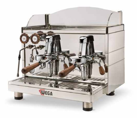 Wega Mini Nova Classic 2 Group Compact Switch Dosing Espresso Machine