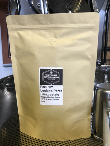 Peru 121 Exclusive Luciano Perez Perez Fairtrade Arabica Roasted Coffee (1kg)
