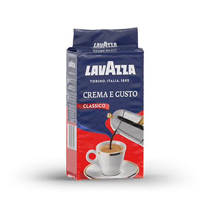 Lavazza Creme e Gusto Ground Coffee (8x250g)