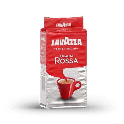 Lavazza Qualita Rossa Ground Coffee (12x250g)