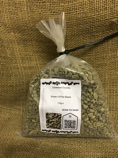 Colombian Excelso Washed Arabica Green Coffee Beans (1kg)