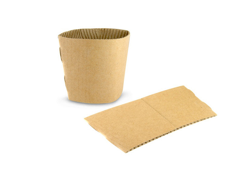 8oz and 10oz Kraft Brown Coffee Cup Clutch (2000)