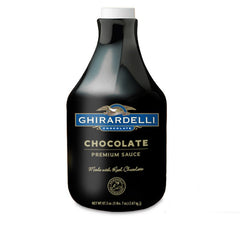 Ghiradelli Dark Liquid Chocolate Sauce (64floz)