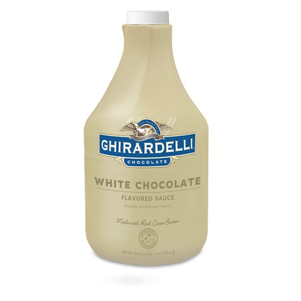 Ghiradelli White Liquid Chocolate Sauce (64floz)