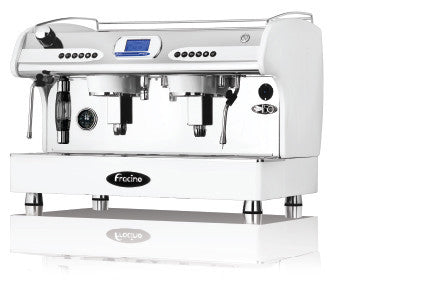 Fracino PID 2 Group Espresso Machine with Independent Group Temperature and Keypad Dosing