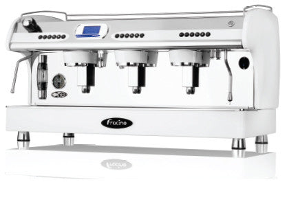 Fracino PID 3 Group Espresso Machine with Independent Group Temperature and Keypad Dosing