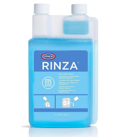 Urnex Rinza Liquid Milk Frother Cleaner 1ltr Bottle