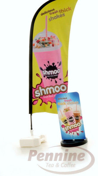 Dinkum Shmoo Outdoor Pavement Sign