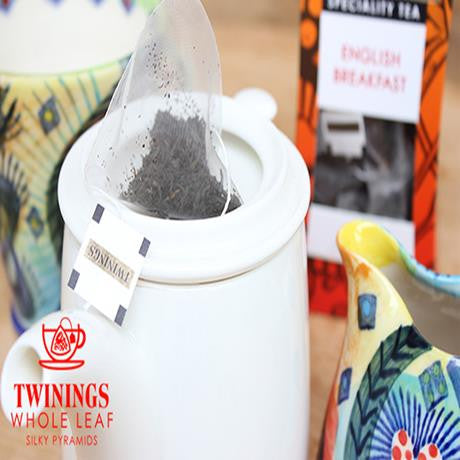 Twinings Moroccan Mint With Rose Tea Silky Pyramid