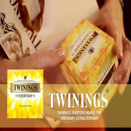 Twinings Everyday Envelope Wrapped Tea Bags (6x50x2g) 300 per case